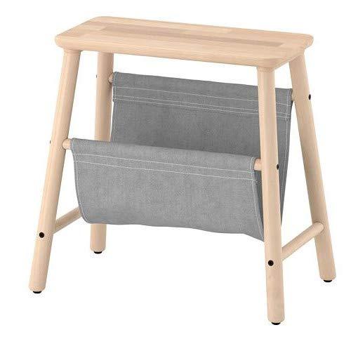 Ikea VILTO Hocker mit Aufbewahrung aus Birke; (45cm)