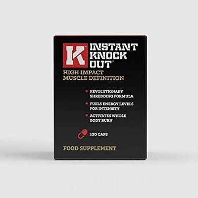 Instant Knockout - 120 Fat Burner Diet Pills - 100% Natural Ingredients - UK Made Premium Supplement