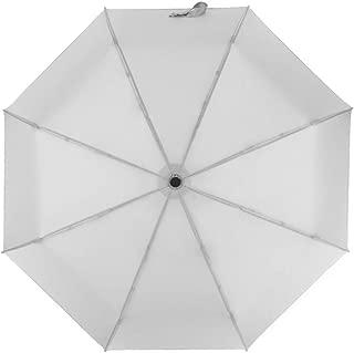 SHANGRUIYUAN-Umberllas Folding Umbrella Men's Women's 8 Bones Against Rainy Season Regular Durable Lightweight Commuting for School (Color : Gray, Size : One Size)