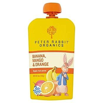 Peter Rabbit Organics Mango Banana and Orange Snacks 4-Ounce  Pack of 10