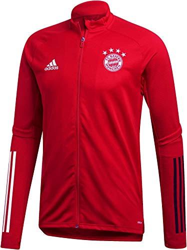adidas Herren 20/21 FC Bayern Track Jacket Trainingsjacke, Fcbtru/Black, L