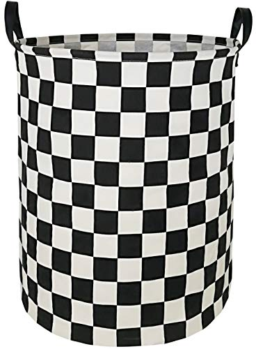 Large Waterproof Storage Bin Lightweight Organizer Basket for Laundry Hamper,Toy Bins,Gift Baskets,Dirty Clothes, College Dorms, Kids Bedroom,Bathroom(Race car)