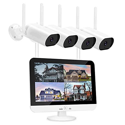 QSYY 1096P HD Rainproof Camera, Outdoor Home Security Video Recorder,...