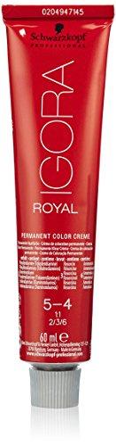 Schwarzkopf IGORA Royal Premium haarkleur 5-4 lichtbruin beige, per stuk verpakt (1 x 60 g)