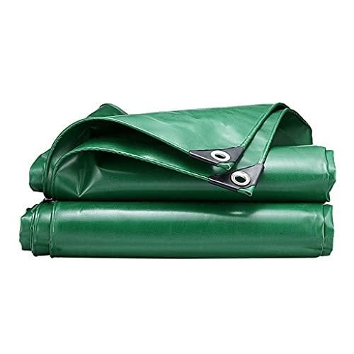 Markisen wasserdichte Plane Verdickte Regensichere Plane Grüne Regenhülle Für Haus Und Garten Möbelschutzhülle (Color : Green, Size : 4 * 5m)