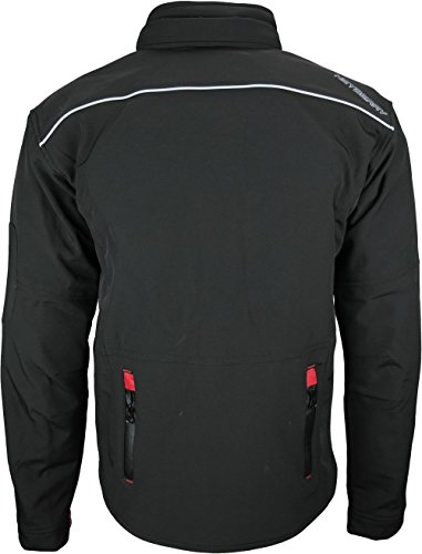 Heyberry Soft Shell Motorradjacke Textil Schwarz Gr. L - 6