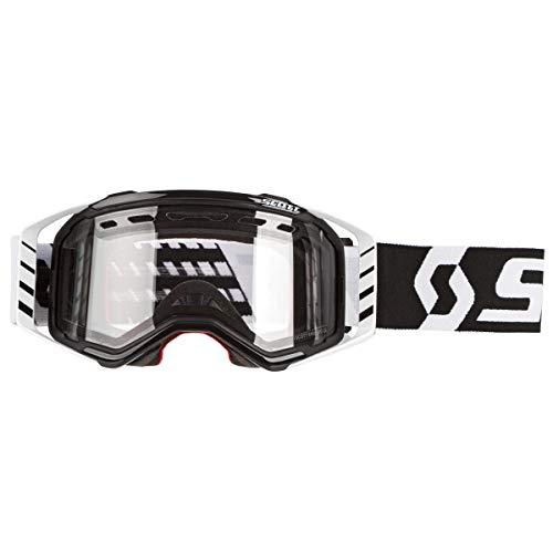 Scott Prospect Enduro LS MX Goggle - Gafas de cross/MTB, color negro, blanco y gris claro