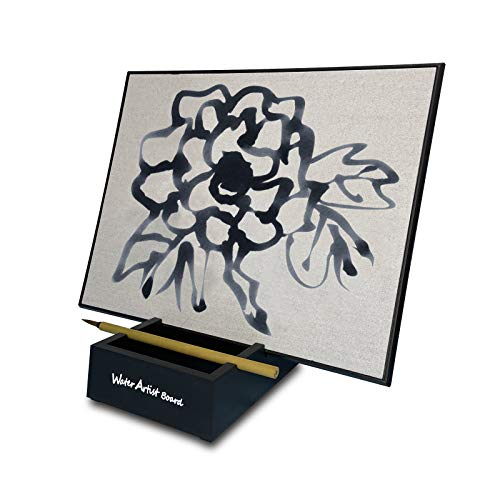Water Artist Board Drawing Set Paint with Bamboo Brush, Repeatable Zen Buddha...