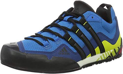 adidas Terrex Swift Solo, Zapatillas de Senderismo Unisex Adulto, Azul (Azuuni/Negbas/Limuni), 41 1/3