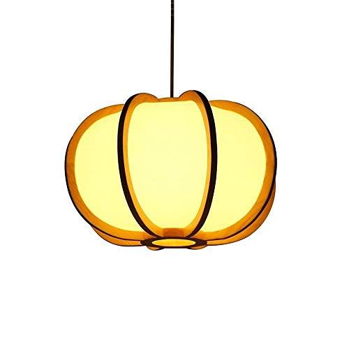 JYDQM Araña de Madera Redonda Colgante de Metal Cinco Luces Accesorio de iluminación Decorativo Lámpara de Techo Antigua