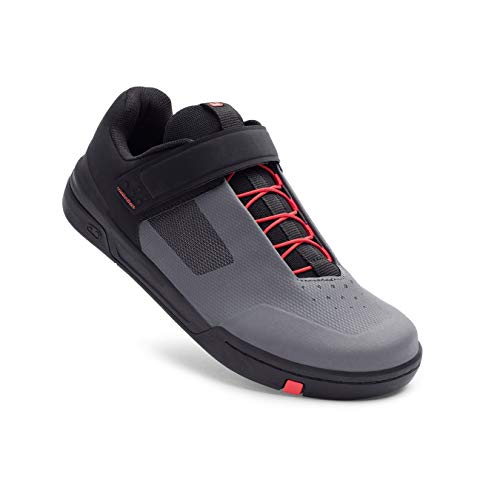 Crankbrothers Stamp Speedlace Schuhe grau/rot Schuhgröße US 7 | EU 39,5 2021 Rad-Schuhe Radsport-Schuhe