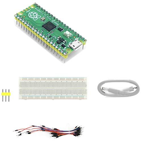 Motyy para Pi Pico Placa, Placa de Microcontrolador de Alto Rendimiento con Interfaces Digitales, con Encabezado Pre-Soldado