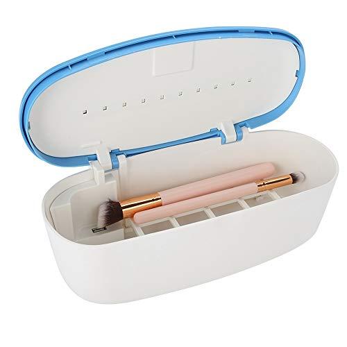UV Sterilisator LED Desinfektion Gerät, Satz-Schönheit Desinfektor Kasten, Desinfektions Box Reinigung Werkzeug für Nagelzangen, Pinzetten und Salonschäler, 99,9% der Bakterien inaktiviert werden