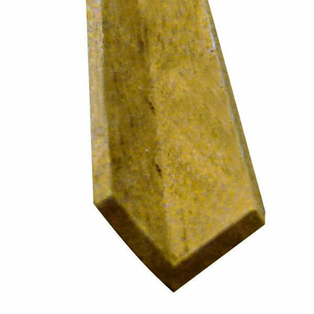 Midwest Products 4594 Scale Lumber Cherry 24 Inch Corner Angle Miniature Moldings, 0.375x0.375 Inches