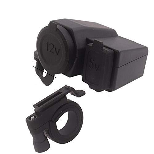 Boomboost - 1pc 12V Chargeur Allume-Cigare USB Prise de Courant pour téléphone