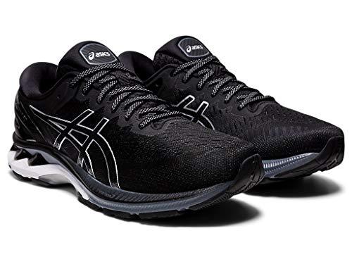 Preisvergleich Produktbild ASICS Gel-Kayano 27 Black / Pure Silver 11.5 EE - Wide