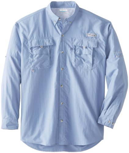 Columbia Bahama II L/S - Camisa para Hombre, Hombre, FT7048, Baliza, XXXXX