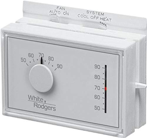 White-Rodgers Emerson 1F56N-444 Mechanical Heating and Cooling Thermostat