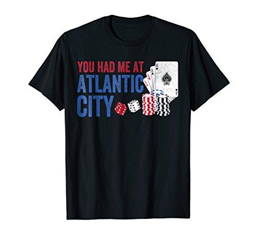 Gambling Shirt Casino Slots Atlantic City Jackpot Gambler