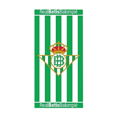 Real Betis Balompié Toalla de Playa Poliester 250gr