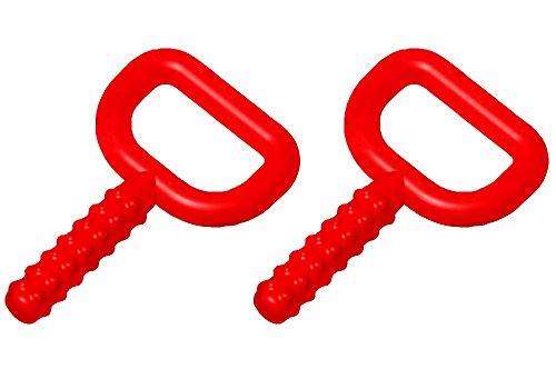 Chewy Tubes, 2 Pack - Red Super Chews - Pediatric and Adult Sensory Treatment Tool