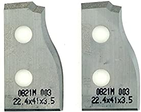 Freud RP-D 5/8-Inch Stock Knife Set For Freud RP1000 Or RP2000 Raised Panel Cutter