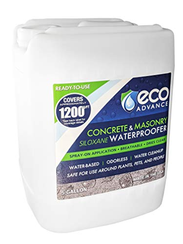 Eco Advance Concrete/Masonry Siloxane Water Repellent - 5 Gallon