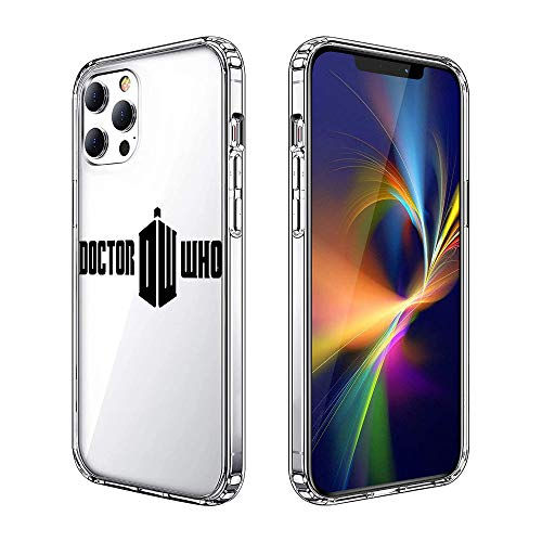Phone Case for iPhone 12 Pro Max, Clear Case Protector Case Personalized Pattern Design (Doctor-Who)