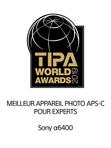 Sony Alpha 6400 | APS-C Spiegellose Kamera mit Sony 16-50mm f/3.5-5.6 Power-Zoom-Objektiv ( Schneller 0,02s Autofokus 24,2 Megapixel, 4K-Filmaufnahmen, neigbares Display für Vlogging)