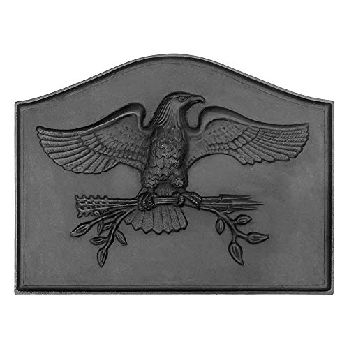 Check Out This Minuteman International American Eagle Cast Iron Fireback (Renewed)