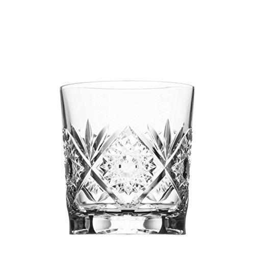 ARNSTADT KRISTALL Whiskyglas SANTRA (9cm) Kristallglas mundgeblasen · handgeschliffen · Handmade in Germany
