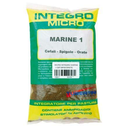 Tubertini PASTURA Micro INTEGRO Marine 1 CEFALO SPIGOLA ORATA 500GR