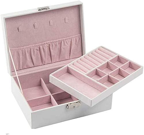 縦断勾配 Jewelry Japan's OFFicial mail order largest assortment Chest Organiser Exquisite Leather Case Jewe