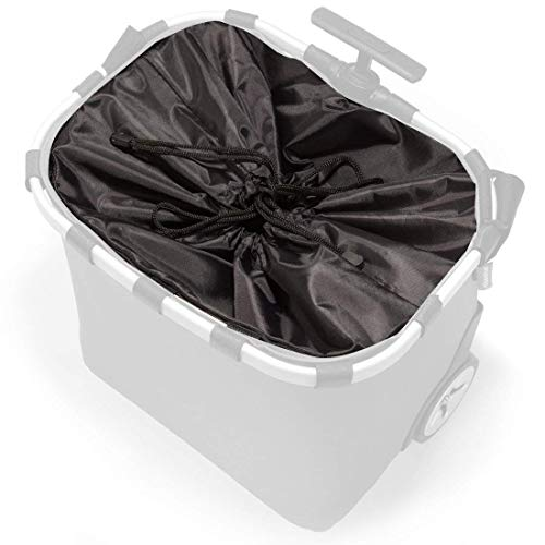 reisenthel Innenfutter Ersatzstoff für carrycruiser Einkaufstrolley in vielen Farben (schwarz)