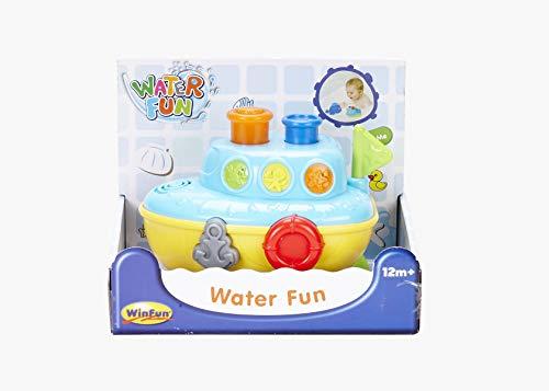 WinFun Juguete acuatico para Bebes, Color Azul (CPA Toy Group 7307106)