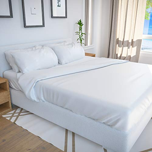 BAMBOO BAY 6-Piece Bamboo Sheet Set - Cooling Sheets for Hot Sleepers...