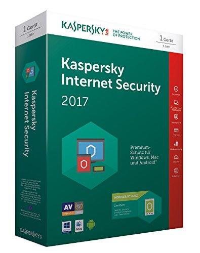 Preisvergleich Produktbild Kaspersky Internet Security 2017 / 1 Gerät + 1 Android Gerät / 1 Jahr / PC / Mac / Android / Download