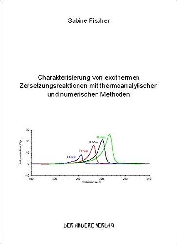 Charakterisierung von exothermen Zersetzungsreaktionen mit thermoanalytischen und numerischen Methoden