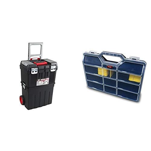 Tayg 58 Trailbox - Caja de Herramientas, Multicolor, Tamaño único + - Estuche con separadores moviles n.45