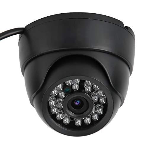 CHENGGONG Cámara de Seguridad para el hogar, cámara de Infrarrojos de Domo de Seguridad Nocturna de 100-240 V, Oficina al Aire Libre para(European regulations)