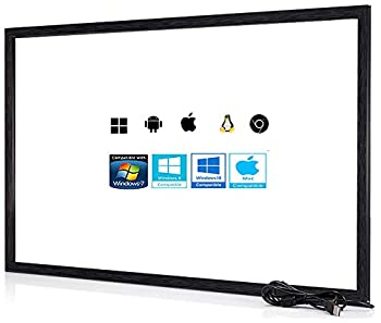 Chengying 42 Inch 10 Points Multi-Touch Infrared Touch Frame IR Touch Panel 42 Inches Infrared Touch Overlay USB Driver Free HID Compatible