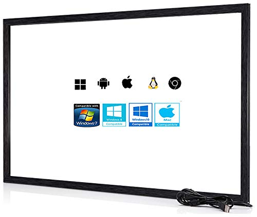 55 inch 10 Point Multi-Touch Infrared Touch Frame, ir Touch Panel, Infrared Touch Screen Overlay