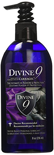 Divine 9 Lubricant, 8 Ounce Bottle