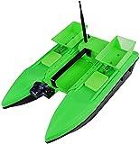 Barco de cebo , Barco de cebo, control remoto automático inteligente grande Barco de inmersión 500m 2kg 4 Nivel Resistencia al viento Feating Hook RC Bait Barco de barco , bote de señuelos de pesca, b
