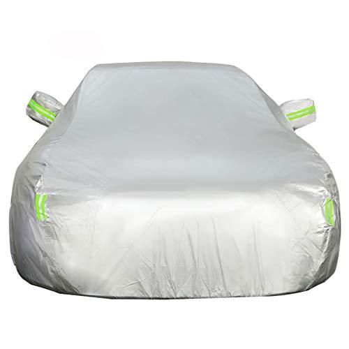 OOFAYZYJ Autoabdeckung Geeignet für Nissan SUV Staubdicht/Wasserdicht/Kratzfest/Winddicht/UV-Schutz Vollständige Autoabdeckung Baumwollfutter,Qashqai