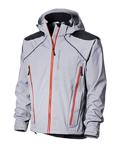 Showers Pass Men's Waterproof Elements Hardshell Jacket (Titanium - Large)