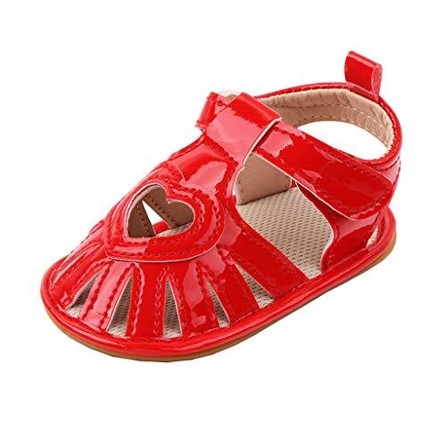 YWLINK Sandalias De Bebé, Sandalias De NiñAs Nuevo NiñO Zapatos De Princesa con Suela Suave,Sandalias Bebé NiñA Verano Zapatillas Princesas Luminosas Estrella Sandalias De Playa Zapatilla