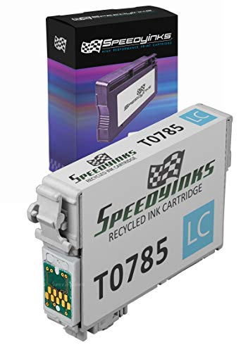 Speedy Inks Remanufactured Ink Cartridge Replacement for Epson 78 T078520 (Light Cyan)