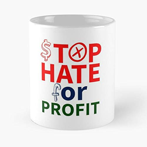 Stop Hate For Profit Fb Boycott Classic Mug - 11 Ounce For Coffee, Tea, Cocoa And Mulled Drinks, The Best Gift Holidays
