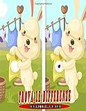 Trova le Differenze per bambini 2-8 anni: Differenze Giochi, Libro dei giochi per bambini